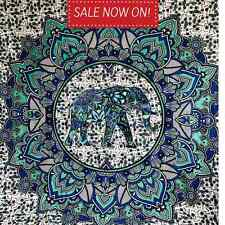 Large Ombre Mandala Tapestry Ele Indian Wall Hanging Bedspread Bedding Throw
