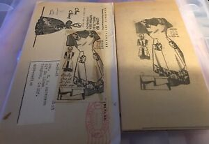 Vintage Anne Adams Sewing Pattern 4629 mail order 1945 One yard pattern Medium