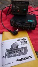Funkgerät President George und Regulator Power supply, Kreuzzeigermeßgerät