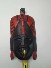 Colorful Tribal Mask African Art Home Decor Wall Hanging.