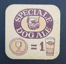 Ancien sous-bock bière SPECIALE DOG ALE bulldog bier coaster Bierdeckel 8