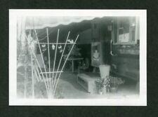 Vintage Photo Mobile Home Travel Trailer CHRISTMAS DECOR Holiday 438096