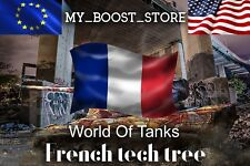 World of Tanks (WoT) - | ANY FRENCH TIER 10 TANK | 7 Days | Not Bonus Code |