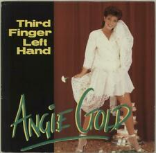 "Third Finger Left Hand Angie Gold 12"" vinyl single record (Maxi) UK PASH1272"