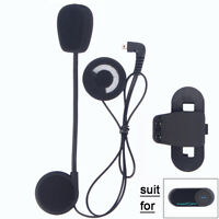 Hard Line Earphone Headset + Bracket Set For FDC TCOM Series Motorcycle Intercom