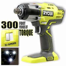 """NEW! Ryobi 18V ONE+ 3-Speed 1/2"""" Cordless Impact Wrench P261 (BARE TOOL-ONLY)"""