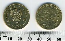 Poland 2005 - 2 Zlote Collectible Brass Coin - Obrony Jasnej Gory, 350th Ann