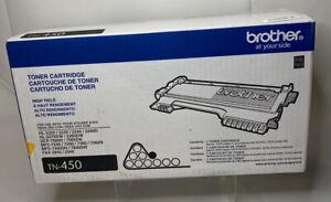 Brother TN-450 Black Toner Cartridge HL-2220 2230 2240 New Sealed