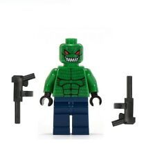 LEGO BATMAN MINIFIGURE KILLER CROC WITH TOMMY GUNS GUN RETIRED BATBOAT 7780