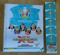 Panini Adrenalyn XL Uefa Euro EM 2020 5 Booster + Sammelmappe Sammelordner