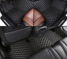Tapis de Sol Auto Cuir Synthétique pour BMW 6er Série F12 M6 Cabriolet Luxe
