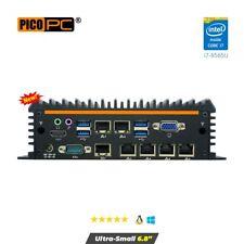 More details for 8th gen core i7 6lan 4g fanless security gateway appliance wifi6 8gbram/240ssd