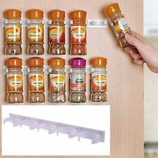 🔥 Spice Herb Jar Rack Hold Kitchen Door Storage Organiser Wall Rack Bottle