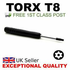 Black T8 Torx Star Screwdriver for Xbox 360 PS3/4 Controller Opening Repair Tool