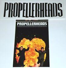 Propellerheads 2 Promo Sticker Lot Grand Royal Uk Rock Punk Indie electro lp cd