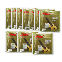 Pack of 10 Sets Ukulele Strings Black Nylon String B/F#/D/A for 4-String Ukulele