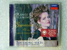 Brand New Renee Fleming George Solti Signatures Great Opera Scenes CD London '97