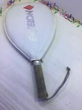 Vintage Ektelon Quazar Racquetball Racquet Small / White-Blue Trim Case Included