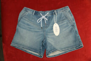 Esprit edc Jeans Shorts blau Gr. XS ~ 34 / W26 - NEU ETIKETT - Damen Hot Pants