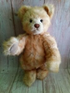 Bear Studio Isabelle Collection Gold Mohair Teddy Bear Full Jointed