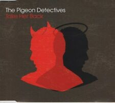 THE PIGEON DETECTIVES Take her back 3 TRACK CD NEW - NOT SEALED