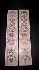 """Set of 10 Antique  Tiles. 6"""" x 6"""".  item tiles 0011"""