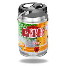 Desperados Tequila Bier mit Zapfhahn 5 Liter Partyfass Festival VIP Fass Getränk
