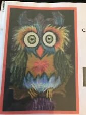 Crazy As An Owl Cross Stitch Chart By Paula's Patterns