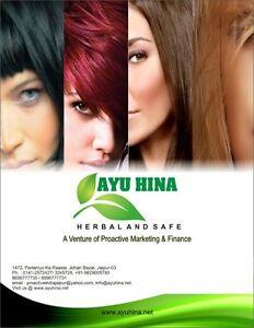 AYU HINA 50 Packets of 40 gms each heena,Black Natural hair color,Herbal Mehendi