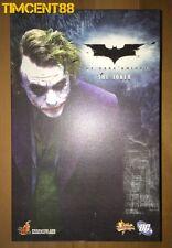 Ready! Hot Toys MMS68 Batman The Dark Knight TDK -  Joker 1/6 Heath Ledger New
