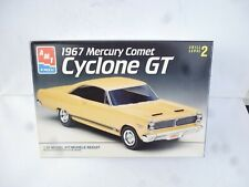 1:25 AMT Ertl 1967 Mercury Comet Cyclone GT 1:25 Yellow  NEW UNBILT