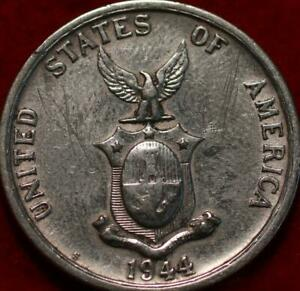 1944-S Philippines 50 Centavos Silver Foreign Coin