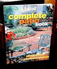 Complete Patio Book Paving and Walkways by Sunset 1998 Create picturesque outdoo