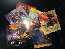 10X DIFFERENT Fat Pack Guide Book Random Lot MTG Magic the Gathering Collection