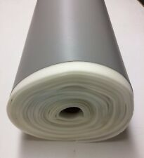 "1/4"" FOAM BACKED MARINE VINYL PEARL GRAY ATV AUTO HEADLINER BOAT FABRIC BTY 54""W"