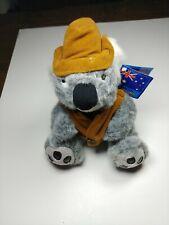 "Toy Parade 10"" Koala Bear w/ Hat Plush Stuffed Animal Toy Bears of the World"