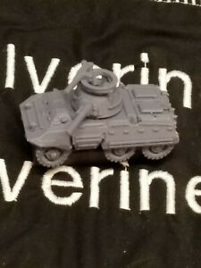 """Flames Of War USA M8 Armored Car """"Greyhound"""" 1/100 15mm FREE SHIPPING"""