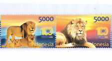 INDONESIA 2017-6 100th LIONS CLUB INTERNATIONAL TIGER SET STAMPS MNH