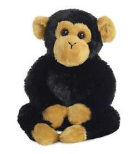 Aurora 31710 Mini Flopsies Clyde The Chimp 8in Soft Toy Black and Brown