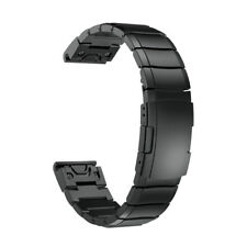 For Garmin Fenix 5X Watch Stainless Steel Bracelet Quick Replacement Band Strap