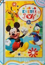 "New listing New Disney Mickey Mouse & Friends ""Easter Joy"" Decorative Garden Flag 12"" x 18"""
