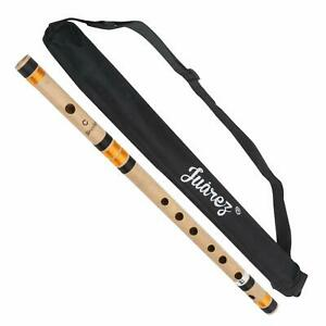 Flute Bansuri 19 inch C# C Sharp Scale Bans Indian Assamese Premium Bamboo  UK
