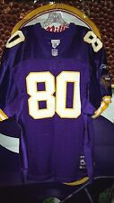 CRIS CARTER #80 MINNESOTA VIKINGS REEBOK NEW TAGS PLAYERS NFL JERSEY SIZE 50