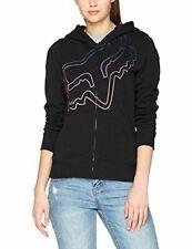 New Fox Racng Womens Eyecon Zip Fleece Hoodie Mxcross Jumper Sweatshirt Top XS S