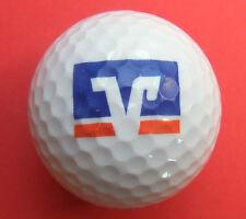 Pelota de golf con logo-banco popular Schwäbisch Hall-golf logotipo Ball como amuleto