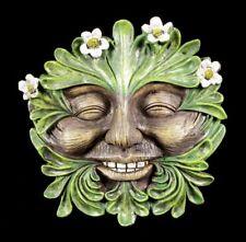 Waldgeist Wandrelief - Gänseblümchen Gesicht - Kobold Garten Deko Relief Baum