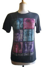 1D One Direction Promo Concert T-Shirt 2012 Up All Night Tour Black Size Small