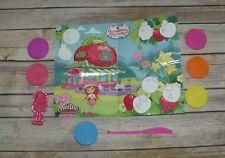RARE Strawberry Shortcake Playdoh Playdough Play Set Molds Playmat