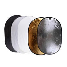 【AU】100x150cm Photography Studio Light Reflector Disc Collapsible 5In1 5 Colors