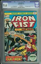 Iron Fist # 1 CGC 9.6  WP